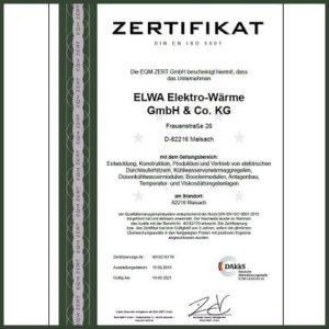 ELWA Zertifikat DIN EN ISO 9001_2015